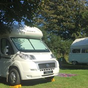 Fully serviced motorhome pitch